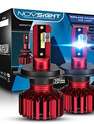 cheap -NOVSIGHT H7 LED Mini Headlight H4 Hi/Lo H1 9005/HB3 9006/HB4 12V 60W 10000LM Turbo Led Bulbs Light Car Bulb H8 H9 H11 Fog Lights 2pcs