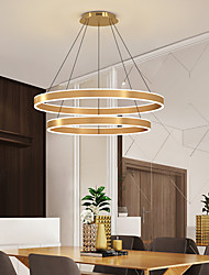 cheap -60 cm Pendant Lantern Design Pendant Light LED Aluminum Brushed Modern 220-240V