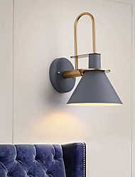 cheap -Mini Style Modern Wall Light LED Wall Lamps Wall Sconces Bedroom Kids Room Iron 220-240V 5 W