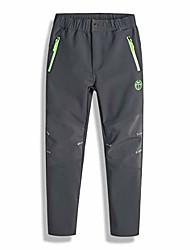cheap -boys girls ski snow pants outdoor fleece waterproof warm insulated softshell hiking pants for kids,kz4601h-grey-8y