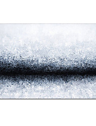 cheap -Oil Painting Handmade Hand Painted Wall Art Modern Black and White Texture Abstract Picture Home Decoration Decor Rolled Canvas No Frame Unstretched