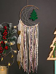 cheap -New Christmas decorations dream catcher Native American hand-woven wall flannelette Christmas tree home decor
