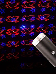 cheap -1pcs USB Star Light with Sound Activated 2 Colors 8 Light Modes  Lighting Effects Romantic Car Ceiling Interior Light Atmosphere Decorations for  Bedroom Party  More Plug and PlayRed Blue&Red Green