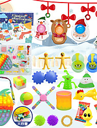 cheap -Finger Toy Squishies Push Pop Bubble Sensory Fidget Toy Stress Reliever 26 pcs Gift DIY Non-toxic For Adults' Men Boys and Girls Christmas Gifts Party Outdoor Halloween Prizes