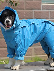 cheap -dog raincoat all-inclusive open belly medium and large dog teddy bichon golden retriever satsuma pet siamese four-legged clothes