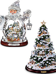 cheap -2pcs Home Christmas Decoration Navidad 2022 Christmas Tree Elk Snowman Pvc Window Sticker Xmas Merry Christmas Natal Noel New Year