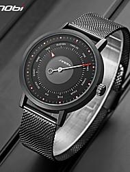 cheap -Sinobi 2021 Brand Men Watches Sports Quartz Clock Blue Watch Men Military Waterproof Relogio Masculino Luxury WristWatch