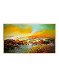 cheap -Oil Painting Handmade Hand Painted Wall Art Landscape Colorful Abstract Large Wall Paintings Home Decoration Decor Stretched Frame Ready to Hang