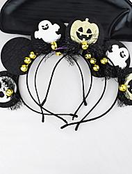 cheap -9 Piece Halloween Headband Hair Accessories Party Stage Cos Wizard Funny Headband Female Pumpkin Devil Hairpin