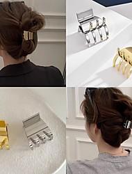 cheap -Mini Girl Hairpin Metal Popular Ins Side Bangs Small Clip Top Clip Headdress