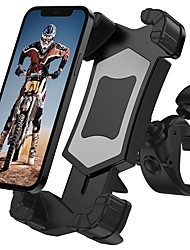 cheap -Phone Holder Stand Mount Bike Bike & Motorcycle Phone Mount Phone Holder Buckle Type Adjustable 360°Rotation ABS Phone Accessory iPhone 12 11 Pro Xs Xs Max Xr X 8 Samsung Glaxy S21 S20 Note20