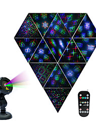 cheap -Laser Light Projector Pattern Firefly 3 Models in 1 with18 Patterns  Auto-Off Timer Dimmable colors RGB Waterproof Outdoor Laser Garden Lights with RF Remote Control and Security kit (Aluminum Alloy)