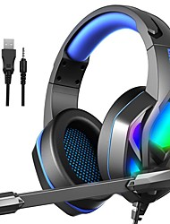 cheap -H100 Gaming Headset USB 3.5mm Audio Jack PS4 PS5 XBOX Ergonomic Design Stereo with Microphone for Apple Samsung Huawei Xiaomi MI  Everyday Use PC Computer Gaming