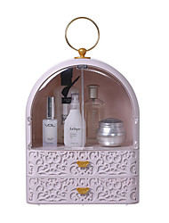 cheap -Cosmetic Jewelry Classification Storage Box Drawer Type Storage Box Portable Portable Rack