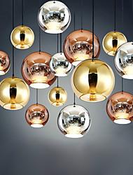 cheap -Pendant Light LED Cluster Design / Single Design Modern / Nordic Style For Living Room / Bedroom / Dining Room Glass 110-240 V Gold