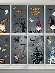 cheap -Halloween Party Decorations Bat Spider Stickers Decor PVC 3D Scary Bats Spider DIY Halloween Wall Decor Indoor Stickers Decor Fear Decal Home Window Decoration Set