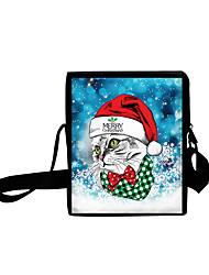 cheap -Unisex Bags Oxford Cloth Crossbody Bag Zipper Daily Outdoor 3D Print Sky Blue