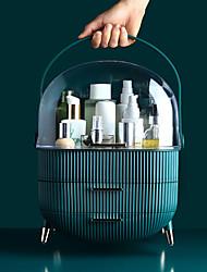 cheap -Fashion Big Capacity Cosmetic Storage Box Waterproof Dustproof Bathroom Desktop Beauty Makeup Organizer Skin Care Storage Drawer