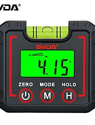 cheap -GVDA Digital Protractor Inclinometer 360 High Precision Goniometer Electronic Level Box Angle Finder Magnet Tilt Measuring Tool