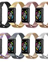 cheap -Smart Watch Band for Huawei Metal Strap for Wristband Business Band Zinc alloy Replacement Wrist Strap for  Wrist Watch Replacement Bracelet Huawei Band 6 Honor Band 6