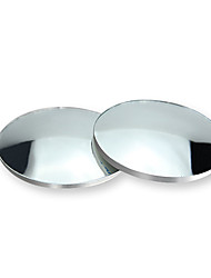 cheap -2pcs 360-degree Wide Angle Adjustable Rotation Round car goods Car Rearview Auxiliary Blind Spot Mirror Car Accessories