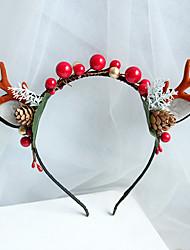 cheap -Christmas Outing Show Little Antler Headband Adult Children Headband Cute Cat Ears Halloween Headband