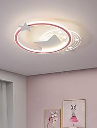 cheap -Round Star Ceiling Light Children's Room Lamp LED Bedroom Ceiling Lamp Nordic Living Room Lamp