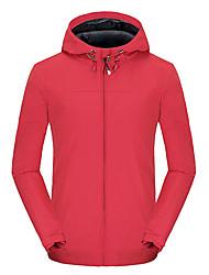 cheap -Men's Outdoor Jacket Street Daily Fall Spring Regular Coat Zipper Hoodie Regular Fit Waterproof Windproof Breathable Casual Jacket Long Sleeve Solid Color Pocket Dark Grey Blue Army Green