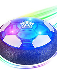 cheap -Hover Soccer Ball Kids Toys, USB Rechargeable Hover Soccer Ball with Protective Foam Bumper and Colorful LED Lights Air Power Soccer Hover Ball for Kids Game