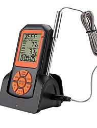 cheap -Remote Wireless Digital Kitchen Thermometer Temperature Gauge for Oven BBQ Grill Meat