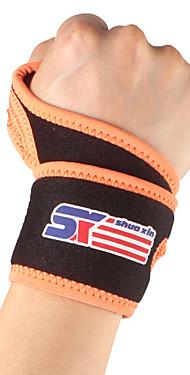 ราคาถูก -SHUOXIN ที่รัดข้อมือ Wrist Support สำหรับ วิ่ง การเดินเขา การปีนหน้าผา กลางแจ้ง ไนลอน Lycra Spandex 1pc กีฬา เสื้อผ้าเอ๊าท์ดอร์ สีดำ