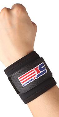 ราคาถูก -SHUOXIN ที่รัดข้อมือ Wrist Support สำหรับ การเดินเขา การปีนหน้าผา ปั่นจักรยาน / จักรยาน กลางแจ้ง ไนลอน Lycra Spandex 1pc กีฬา เสื้อผ้าเอ๊าท์ดอร์ สีดำ