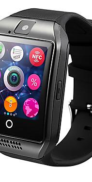 povoljno -Q18 Muškarci Smart Satovi Android iOS 3G Bluetooth Vodootporno Heart Rate Monitor Hands-Free telefoniranje Video Kamera Podešivač vremena Štoperica Mjerač sna Pronađi moj uređaj Budilica / 128MB