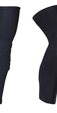 ราคาถูก -Thigh Support สำหรับ วิ่ง บาสเกตบอล กลางแจ้ง อุปกรณ์ป้องกันภัย Lycra Spandex 1 คู่ กีฬา Athleisure แดง สีเขียว ฟ้า
