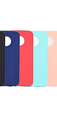 cheap -Case For Motorola Moto G5 Plus / Moto G5 Frosted Back Cover Solid Colored Soft TPU