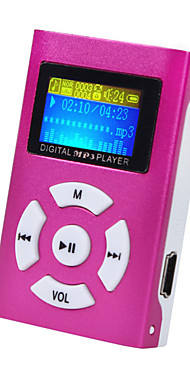 cheap -Mini MP3 Music Player LCD Screen Support 32GB Micro SD TF Card Sport Fashion Brand New Style Rechargeab