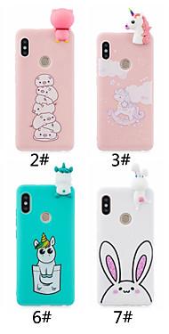 cheap -Case For Xiaomi Xiaomi Redmi Note 5A / Xiaomi Redmi Note 5 Pro / Redmi 6 Frosted / DIY Back Cover Cartoon Soft TPU / Xiaomi Redmi 4A