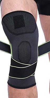 ราคาถูก -ที่รัดเข่า แขนเสื้อ สำหรับ วิ่ง บาสเกตบอล ลูกฟุตบอล Shockproof ยางยืด Protection ไนลอน Toyokalon อิมัลชัน 1 ชิ้น กีฬากลางแจ้ง การกรีฑา ส้ม สีเขียว