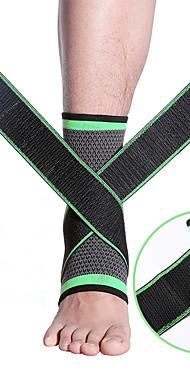 ราคาถูก -ที่รัดข้อเท้า สำหรับ วิ่ง แคมป์ปิ้ง & การปีนเขา การเดินเขา Ultra Slim ซึ่งยืดหยุ่น ระบายอากาศ อะคริลิค 70% / คอตตอน 30% Cotton เส้นใยพิสิฐ 1 ชิ้น กีฬากลางแจ้ง การกรีฑา สีเขียว