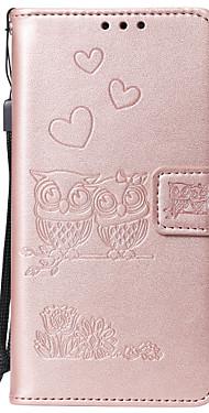 cheap -Case For LG G3 G4 G5 G6 STYL04 STYL05 LG G7 K4 2017k8 2017 K10 2017 K10 2018 LG K40 V30 K8 2018 K50 Q60 Card Holder Flip Pattern Full Body Cases owl animal heart PU Leather TPU