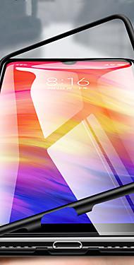 cheap -Single-sided Magnetic Phone Case For Xiaomi Pocophone F1 / Xiaomi Mi 8 / Xiaomi Mi 8 Lite Transparent Full Body Cases Solid Colored Hard Metal