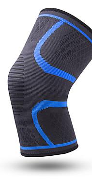 ราคาถูก -ที่รัดเข่า สำหรับ วิ่ง แคมป์ปิ้ง & การปีนเขา การเดินเขา ยางยืด Protection ระบายอากาศ ไนลอน อิมัลชัน 1 กีฬากลางแจ้ง การกรีฑา แดง ฟ้า สีเทา