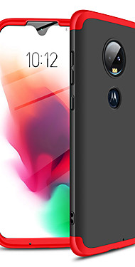 cheap -Case For Motorola Moto G7 Shockproof / Ultra-thin Full Body Cases Solid Colored Hard Plastic