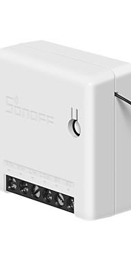 povoljno -sonoff mini bežična pametna sklopka dvosmjerna 10a ac100-240v diy prekidač modela kompatibilni amazonski alexa / google pomoćnik pametni kućni komplet omogućuje blještanje firmvera
