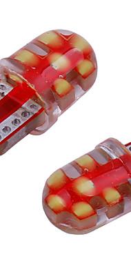 povoljno -10pcs t10 klip silikonski gel 194 168 501 w5w vodio žarulja canbus 12smd auto interijera svjetlo auto klin parking dome okrenuti strana svjetiljka dc12v