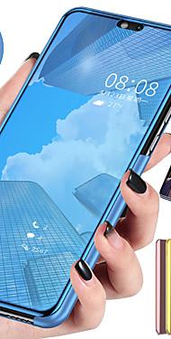 cheap -Smart Mirror Flip Case For Xiaomi CC9 Mi CC9e Mi 9T Pro Mi 9T Case Clear View PU Leather Kickstand Flip Cover