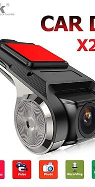 povoljno -anytek x28 crtica cam fhd 1080p auto dvr 150 stupnjeva širokokutni automobil dvr gps video snimač s wifi / mini / g-senzorom / adas / petlja-snimanje / otkrivanje montaže