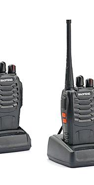povoljno -2pcs walkie tokie baofeng bf-888s 16ch uhf 400-470mhz baofeng 888s pršut radio hf primopredajnik amador prijenosni interfoni super kvaliteta zvuka