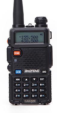povoljno -1pcs baofeng uv-5r walkie tokie uhf vhf prijenosni cb šunka radio stanica amaterski policijski skener radio intercept hf primopredajnik uv5r slušalice