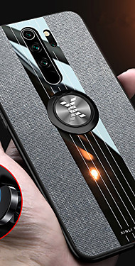 cheap -Luxury Cloth Magnetic Ring Holder Case For Xiaomi Redmi Note 8 Pro Note 7 Note 5 K20 Pro Redmi 7 Case Hard PC Fabric Soft TPU Frame Cover